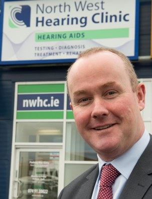 local audiologist Padraig MacGinty